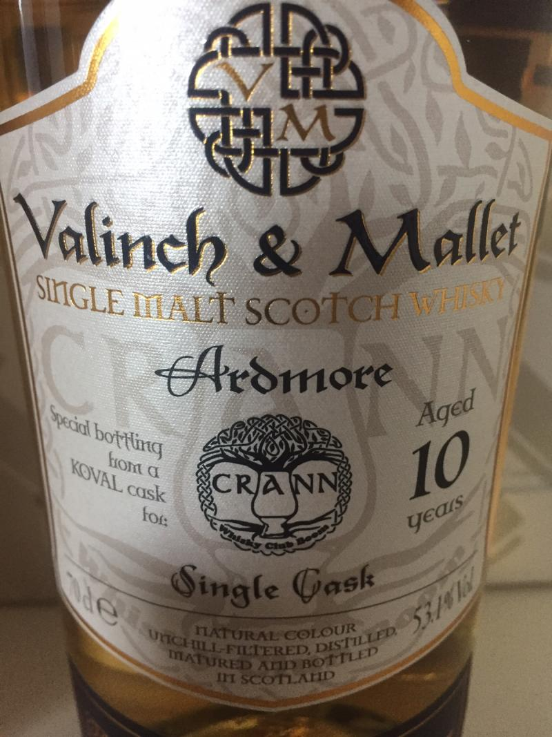Ardmore 10-year-old V&M
