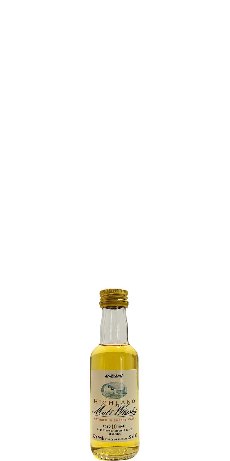 Highland Malt Whisky 10-year-old