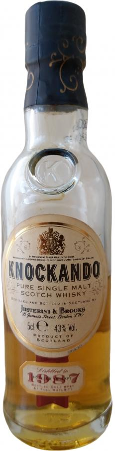 Knockando 1987