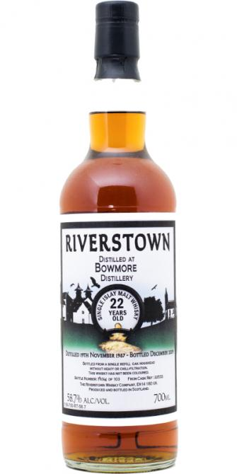 Bowmore 1987 RT