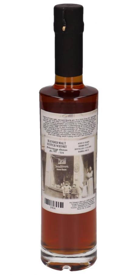 Blended Malt Whisky Oma Krügers 90. Geburtstag KW