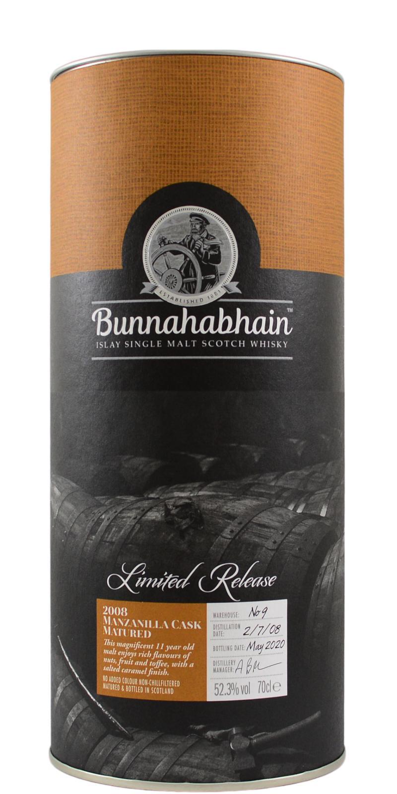 Bunnahabhain 2008