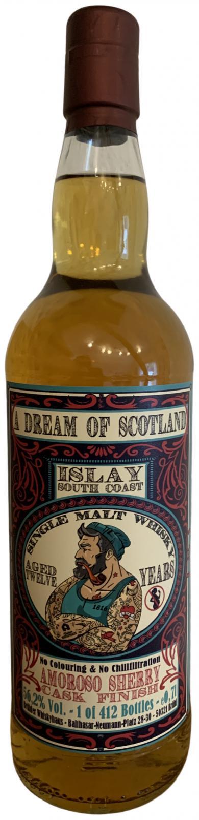 Islay South Coast 12-year-old BW
