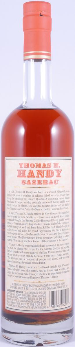 Thomas H. Handy Sazerac 2002