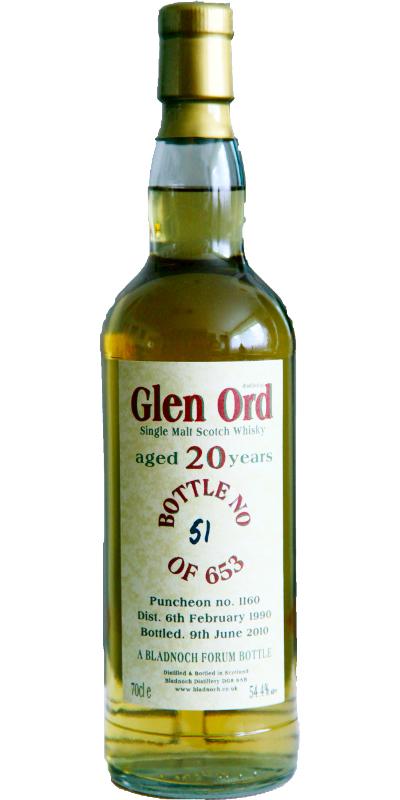 Glen Ord 1990 BF