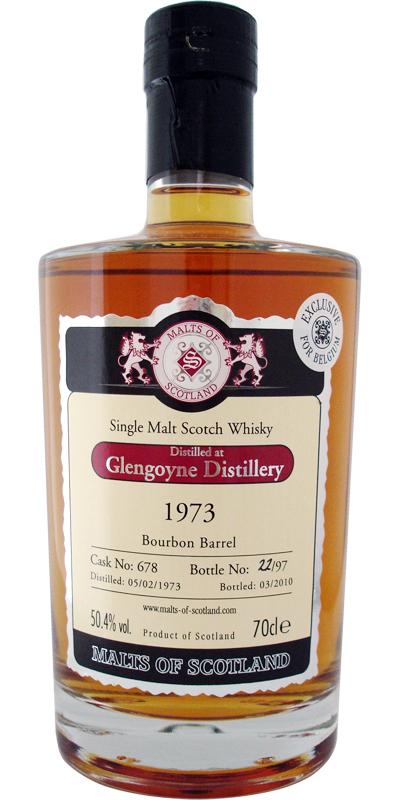 Glengoyne 1973 MoS