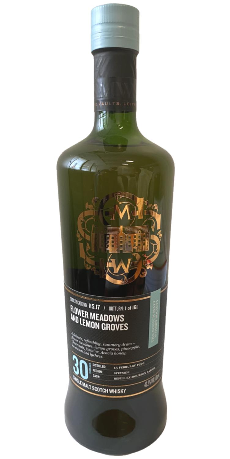 An Cnoc 1990 SMWS 115.17
