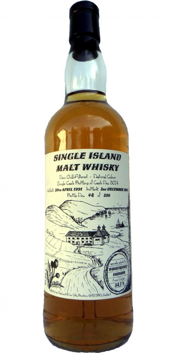 Single Island Malt 1991 IM