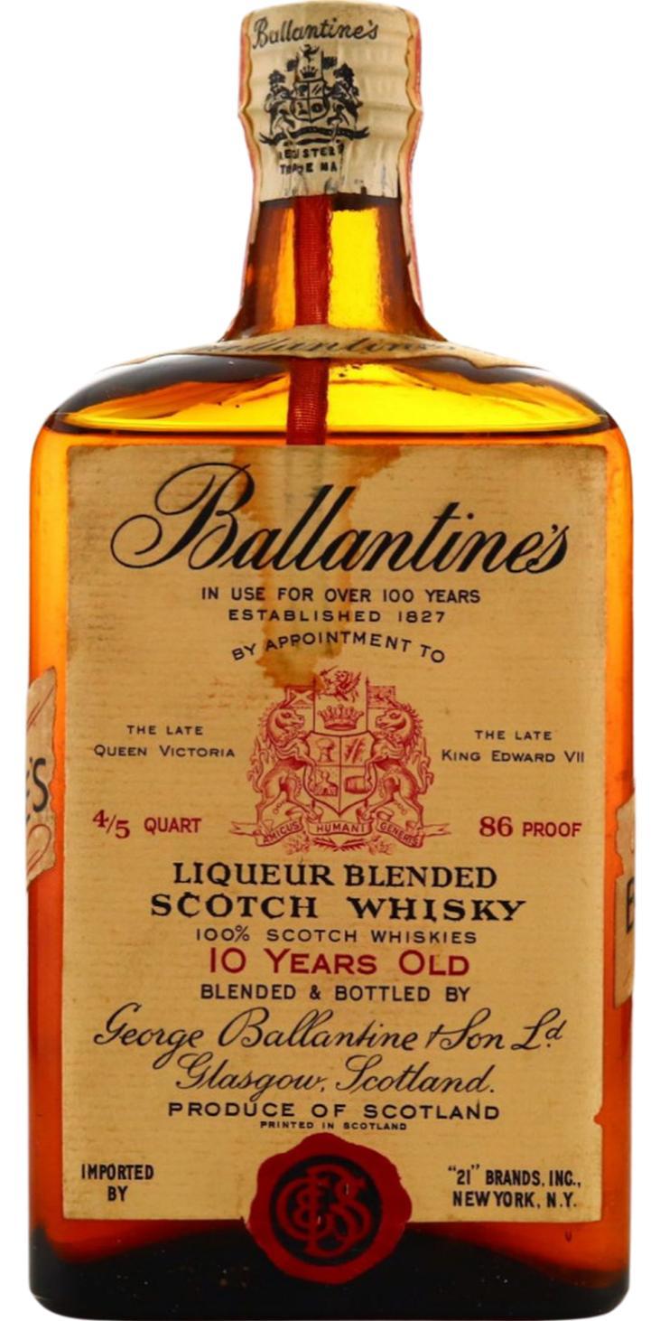 Ballantine's 10-year-old