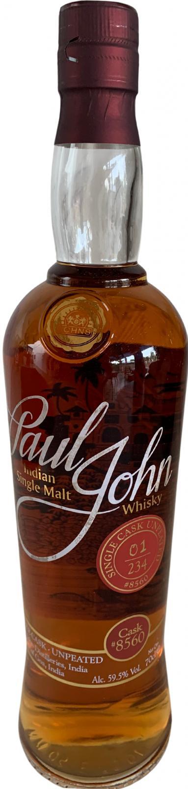 Paul John Single Cask