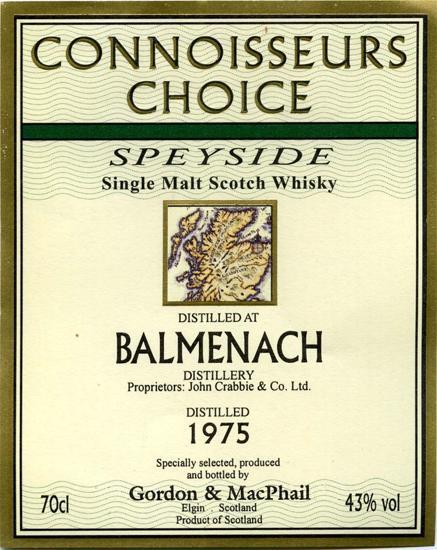 Balmenach 1975 GM
