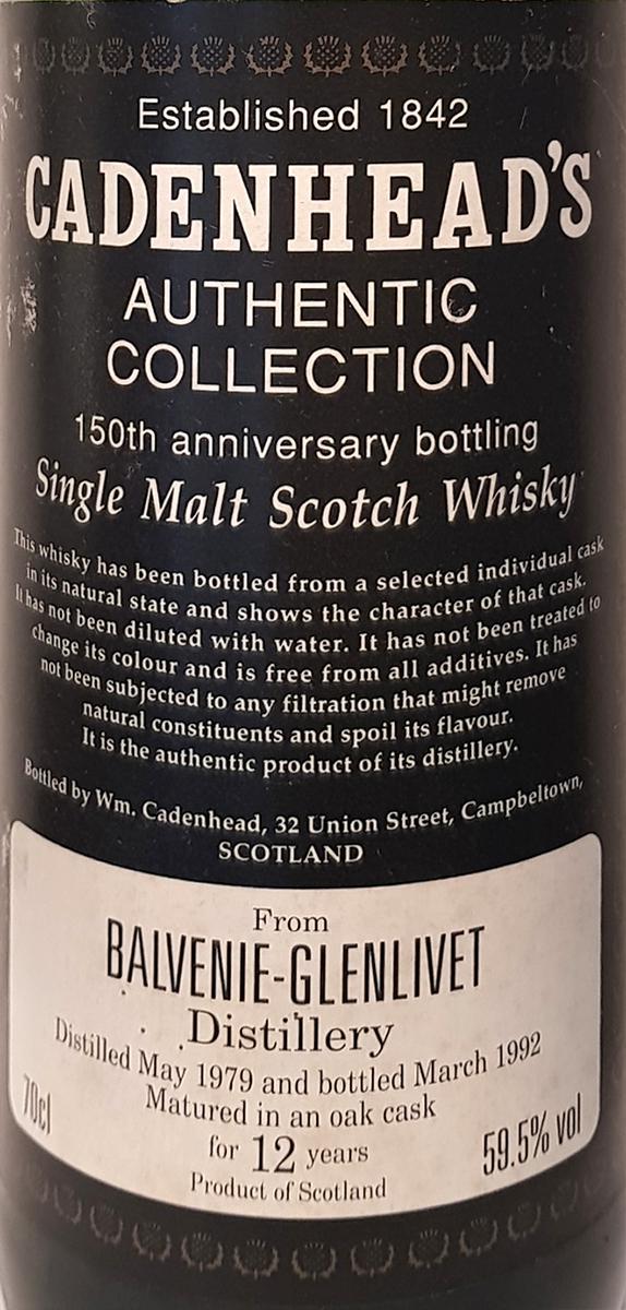 Balvenie 1979 CA