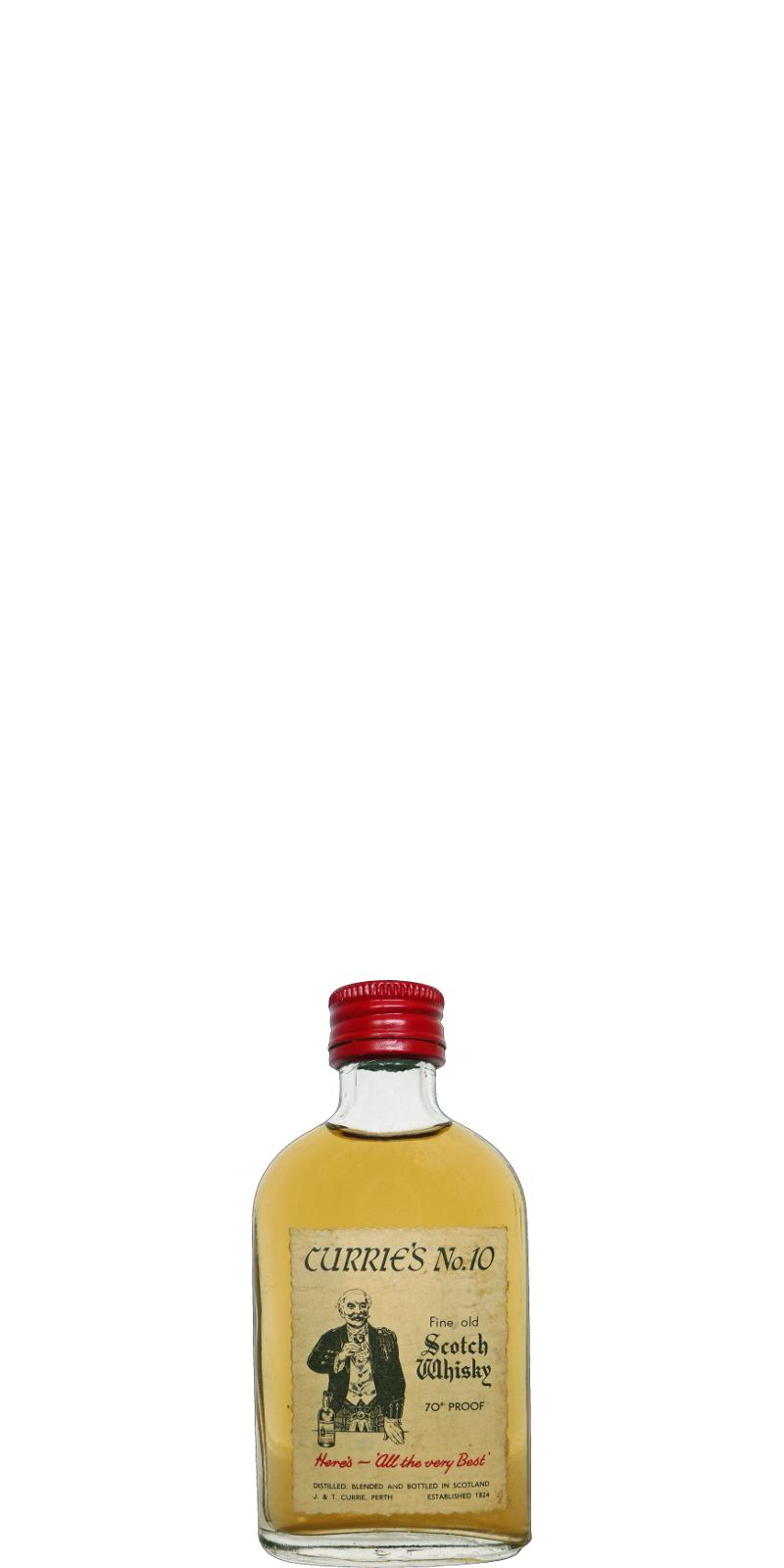 Currie's No.10 Fine Old Scotch Whisky