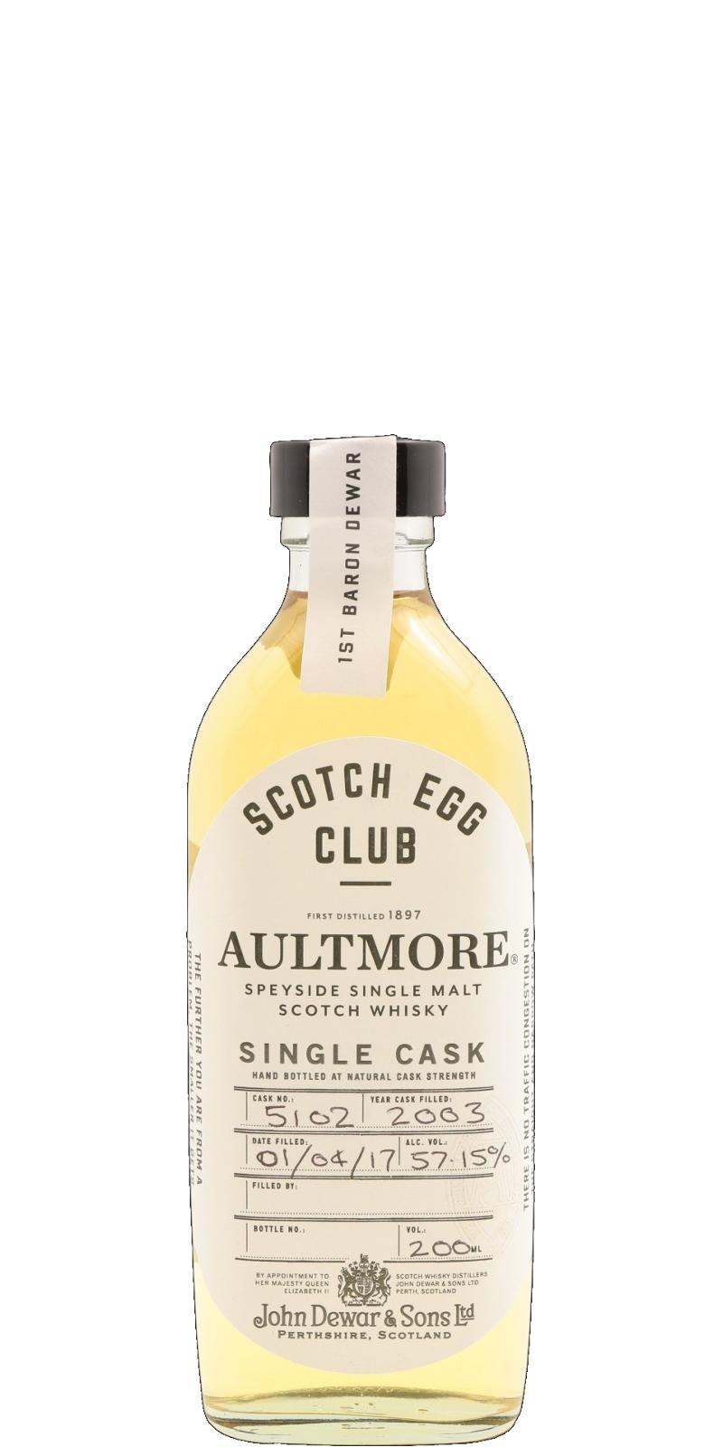 Aultmore 2003 JD&S