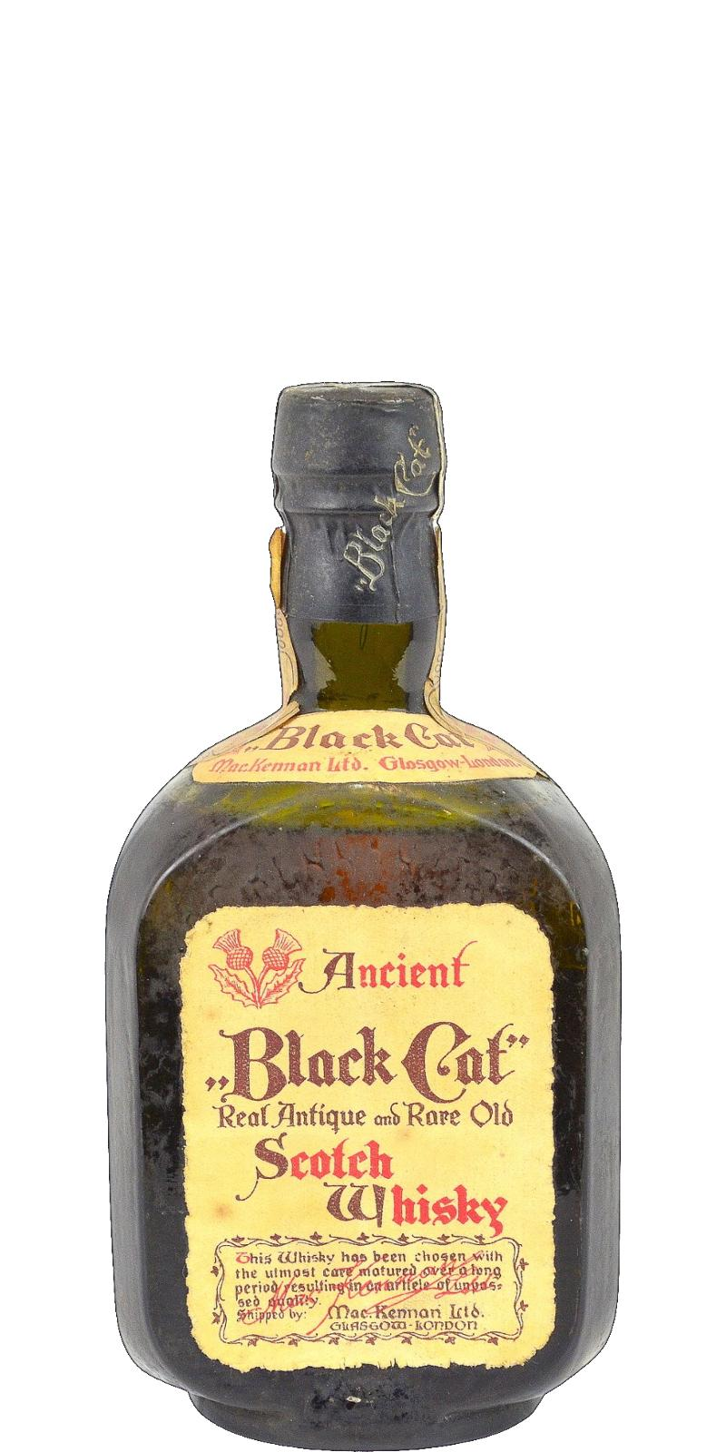 Black Cat Ancient Scotch Whisky