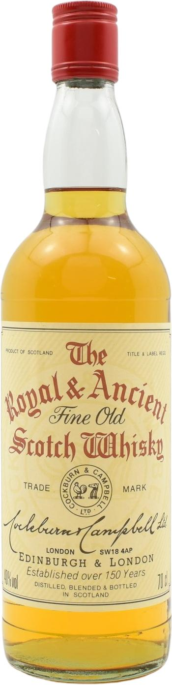 The Royal & Ancient Fine Old Scotch Whisky Co&Ca