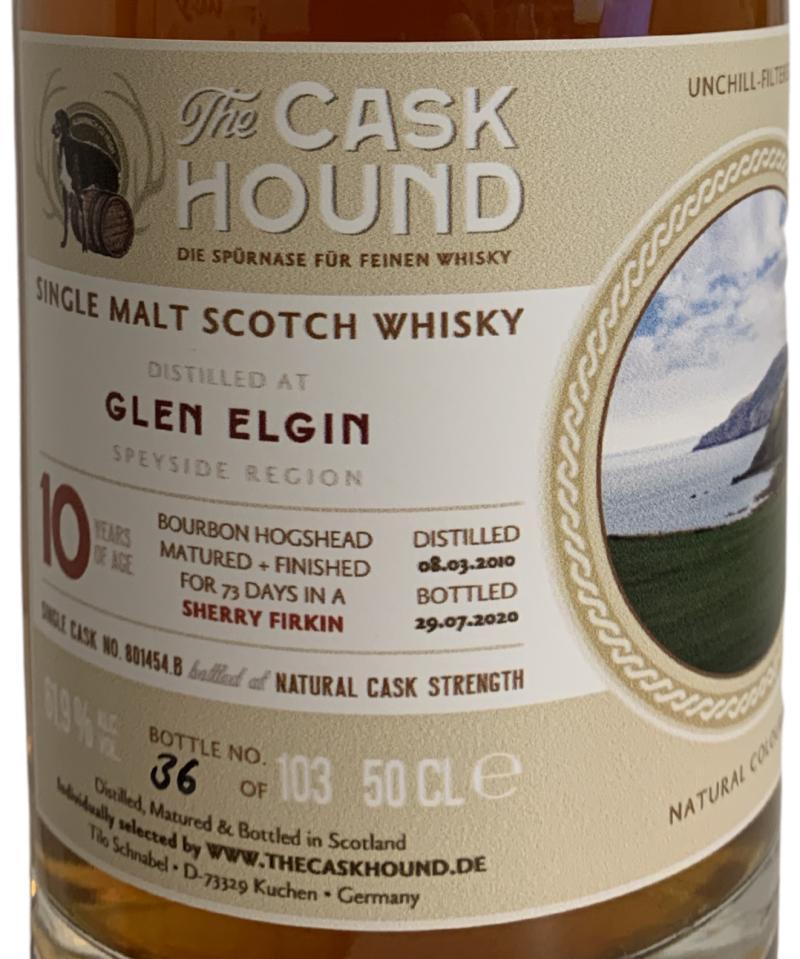 Glen Elgin 2010 TCaH