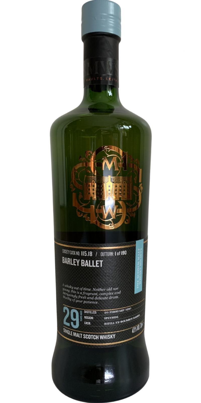 An Cnoc 1991 SMWS 115.18