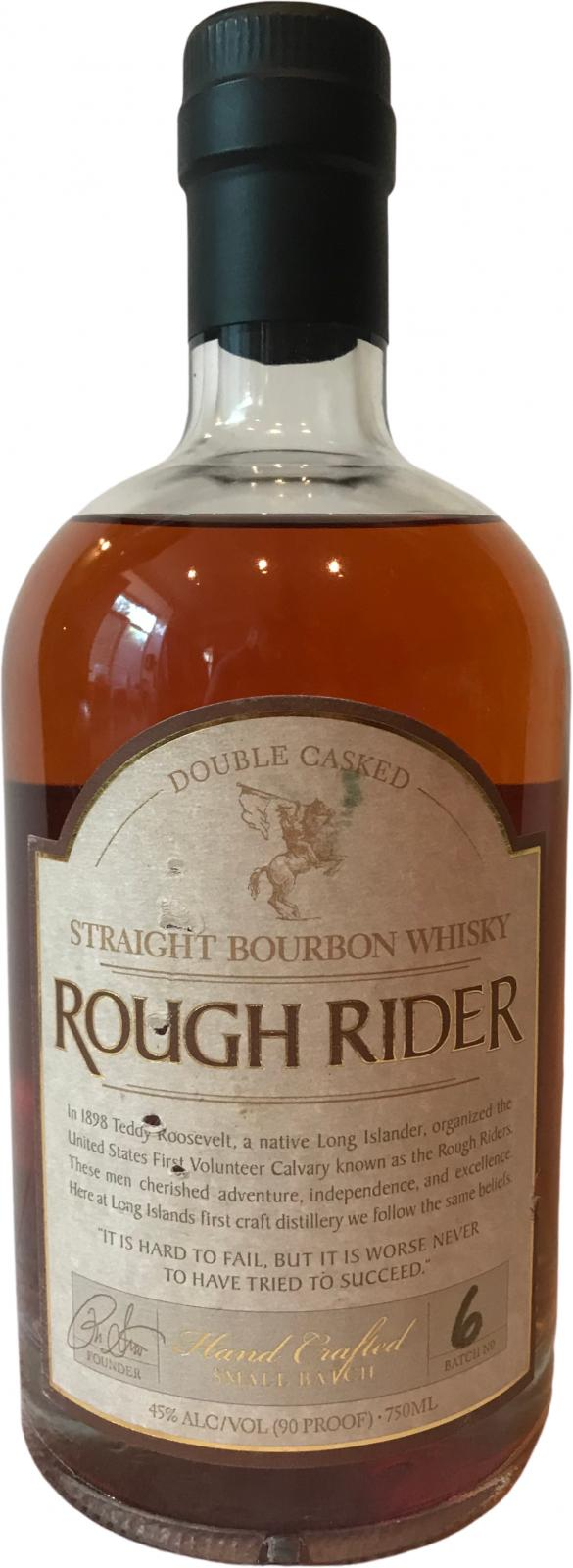 Rough Rider Double Casked Straight Bourbon
