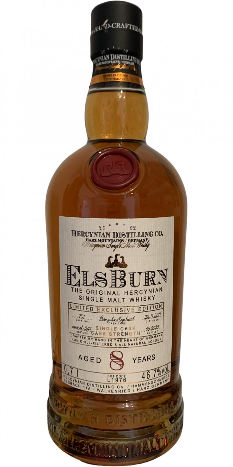 Elsburn 2011 Ratings And Reviews Whiskybase