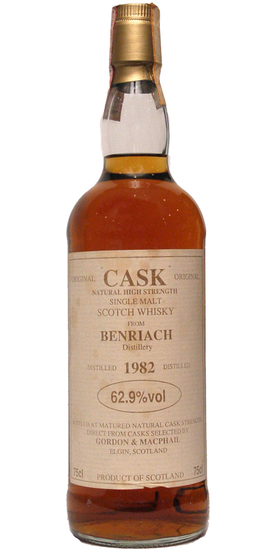 BenRiach 1982 GM