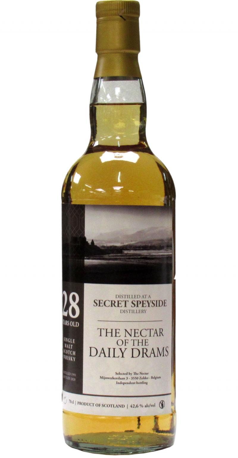 A Secret Speyside Distillery 1991 DD