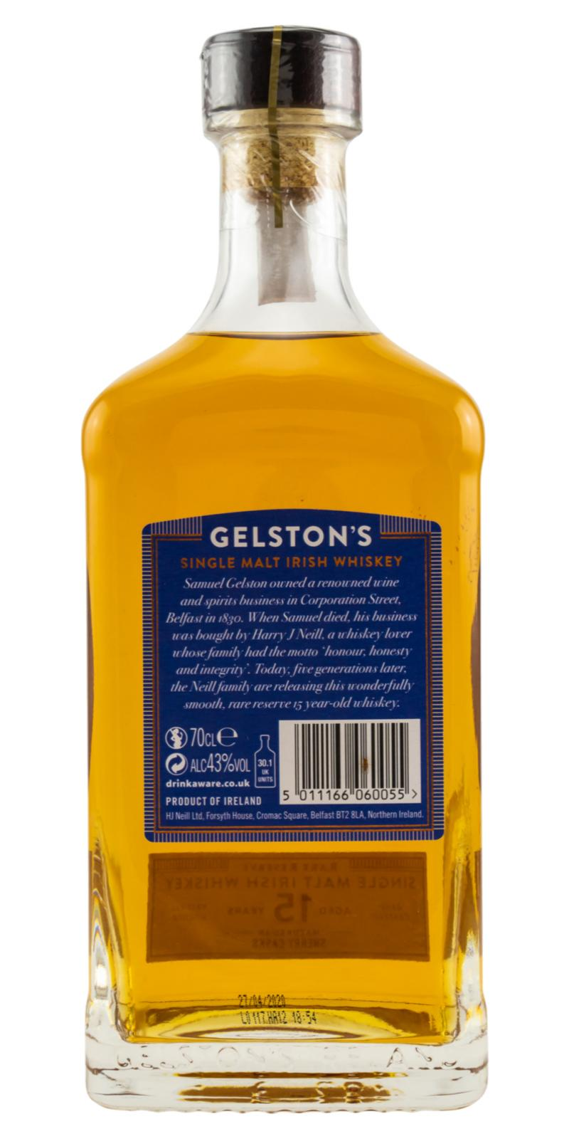 Gelston's 15-year-old