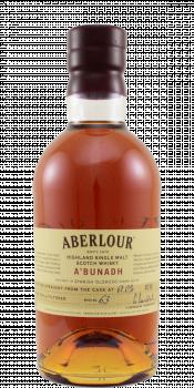 Aberlour A'bunadh batch #63