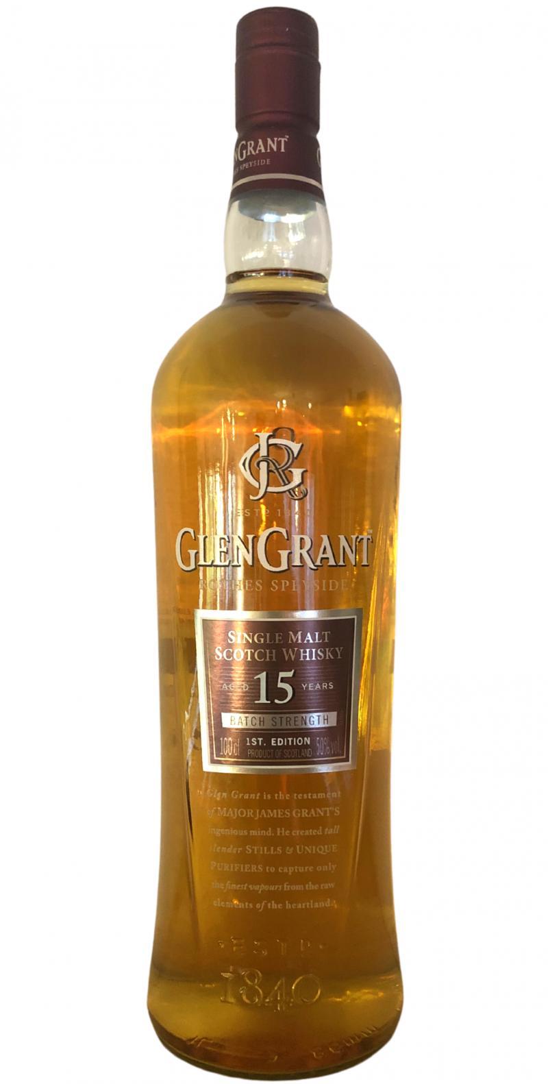 Glen Grant 15-year-old