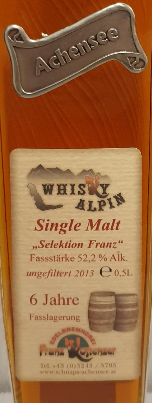Whisky Alpin 2013