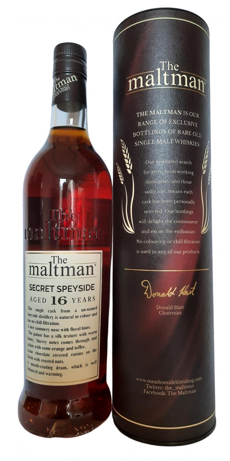 Secret Speyside Distillery 2003 MBl