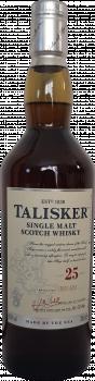 Talisker 25-year old