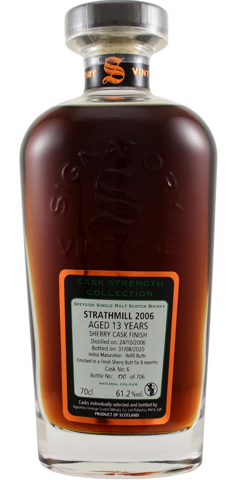 Strathmill 2006 SV