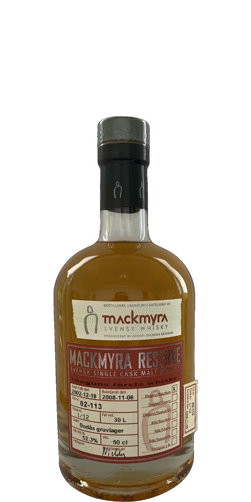 Mackmyra 2002