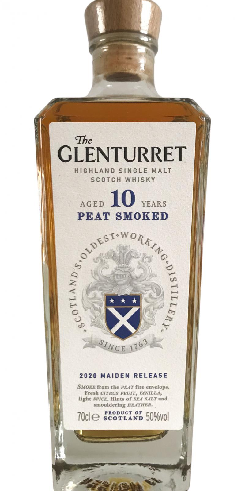Glenturret 10-year-old - Peat Smoked