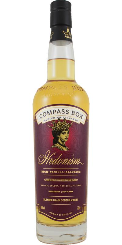 Hedonism Blended Grain Scotch Whisky CB