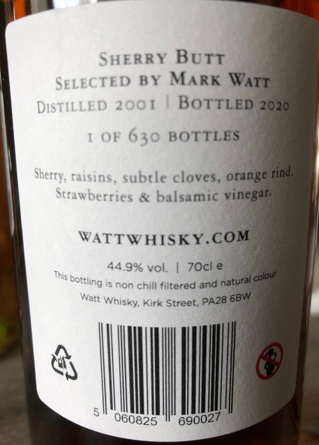 Blended Malt Scotch Whisky 19-year-old CWCL