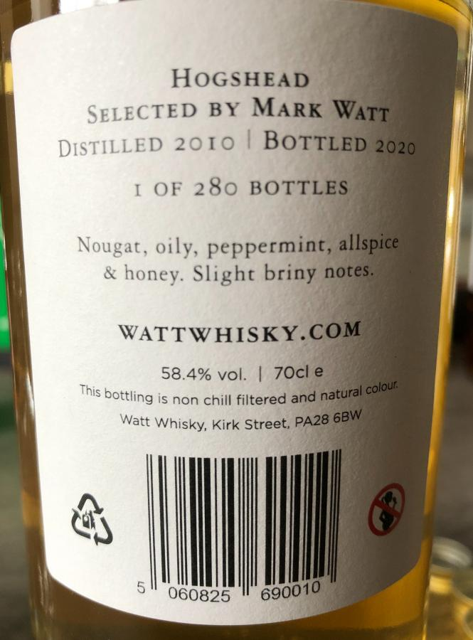 Secret Highland Distillery 10-year-old CWCL