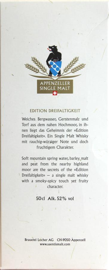 Säntis Malt Edition Dreifaltigkeit