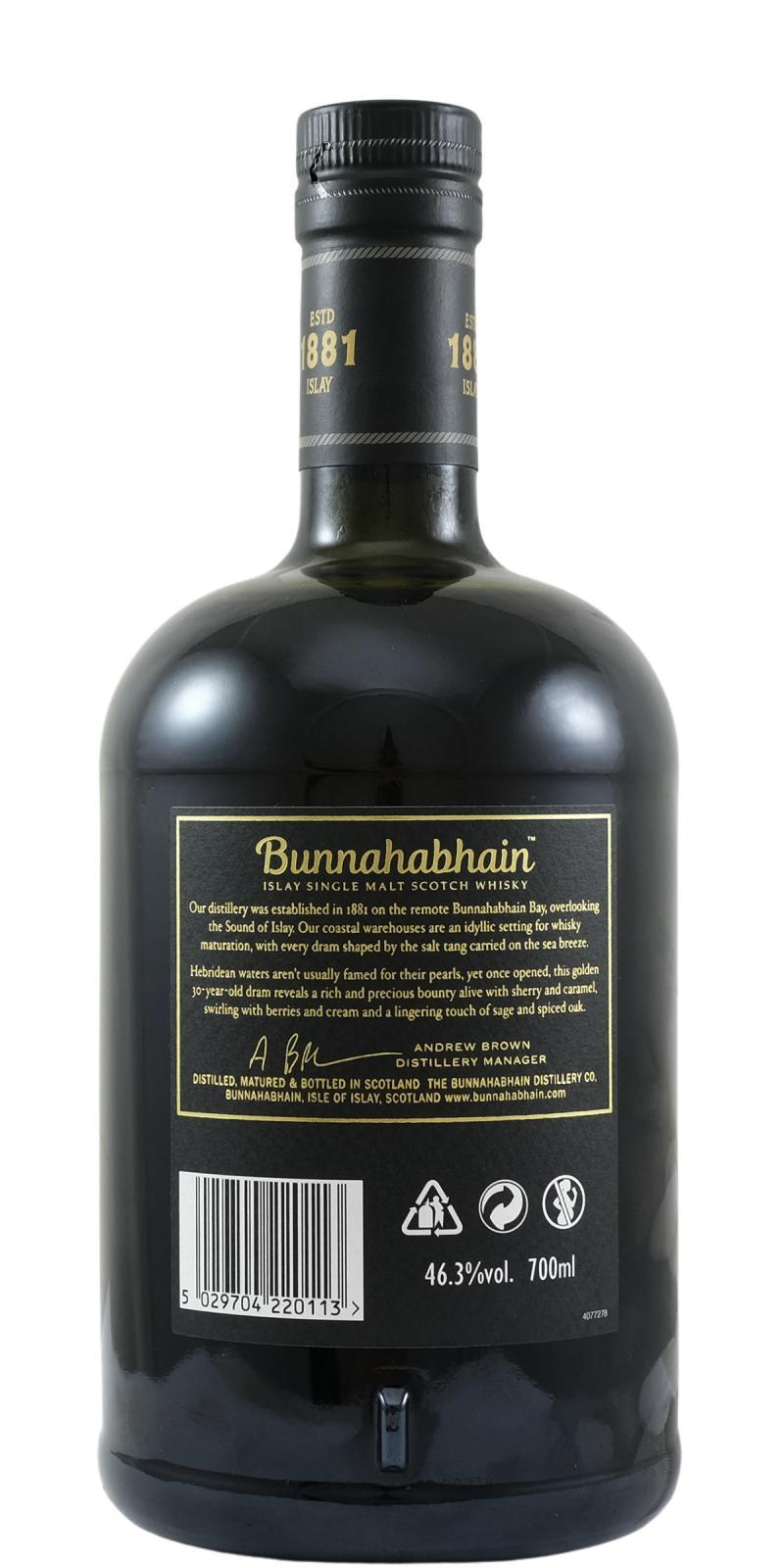 Bunnahabhain 30-year-old