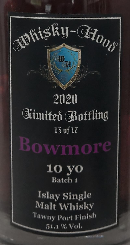 Bowmore 10-year-old WhHd