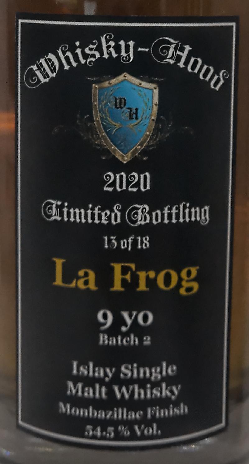 Islay Single Malt Whisky La Frog WhHd