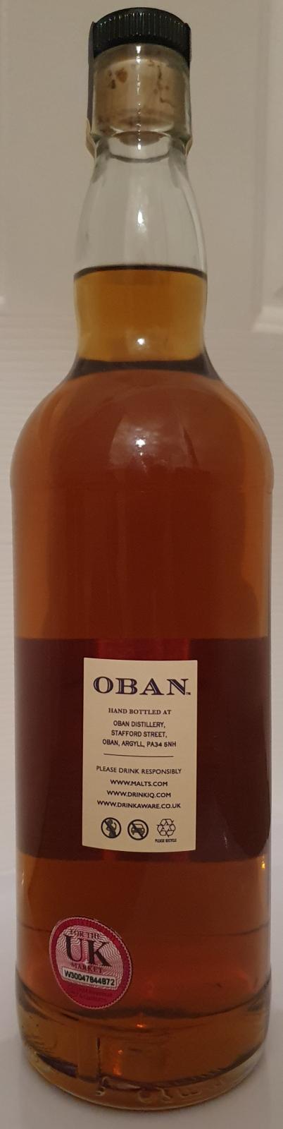 Oban 2009 Hand Bottled