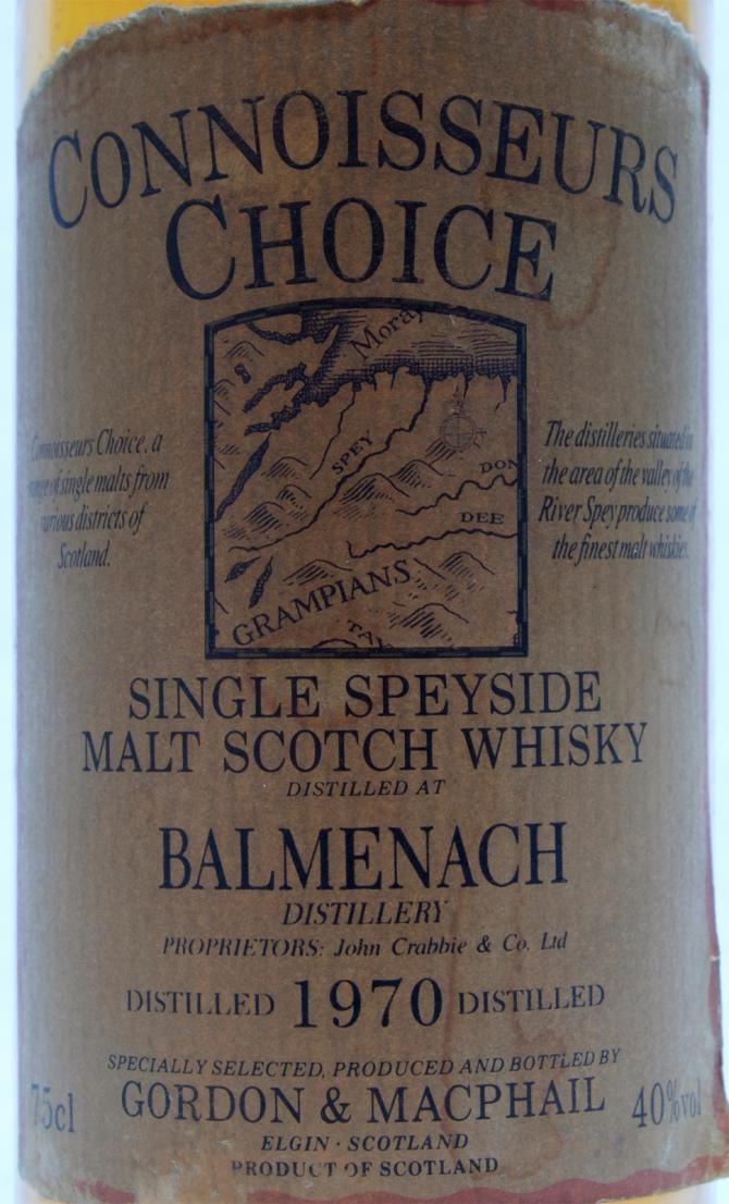 Balmenach 1970 GM