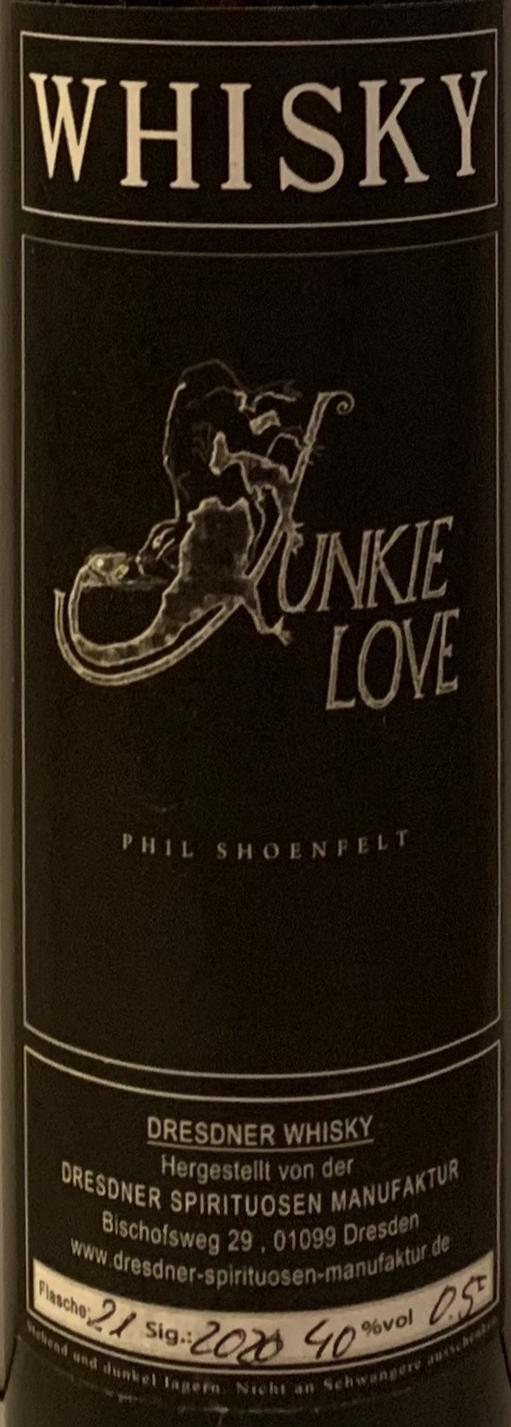 Dresdner Whisky Junkie Love - Phil Shoenfelt