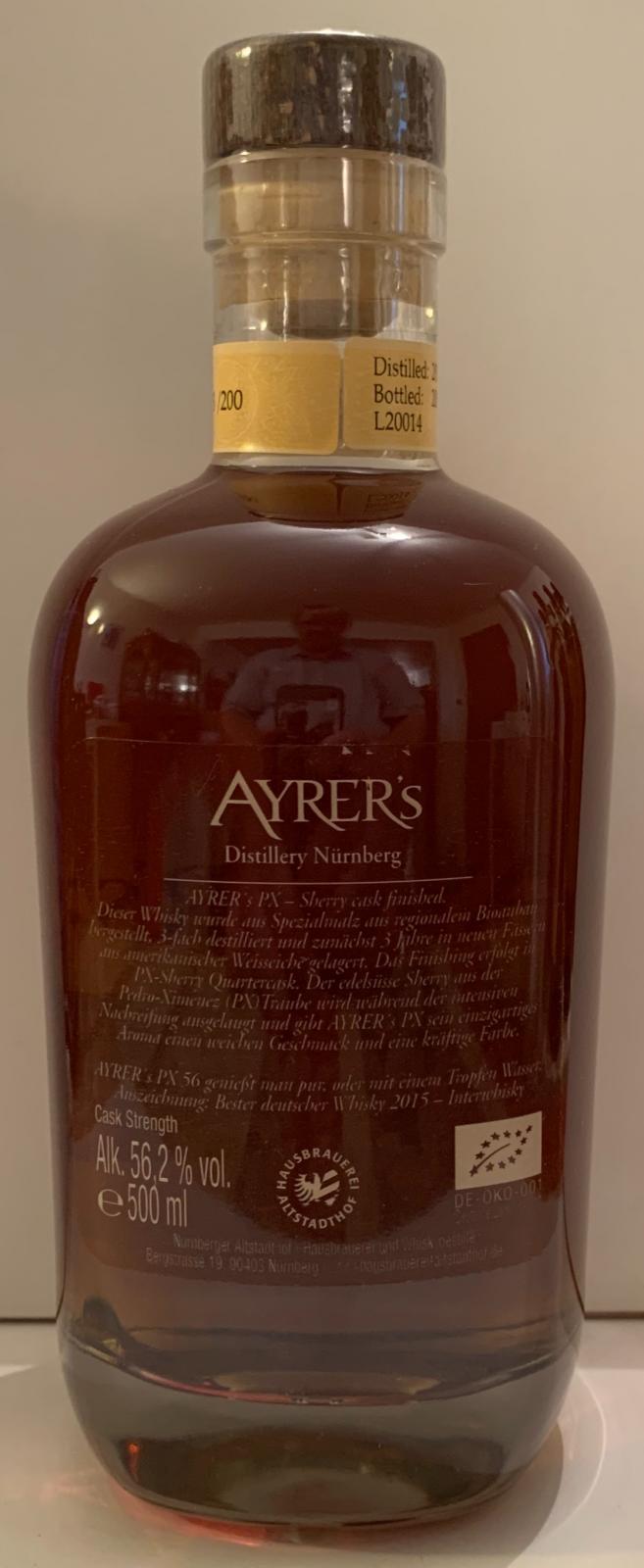 Ayrer's 2015