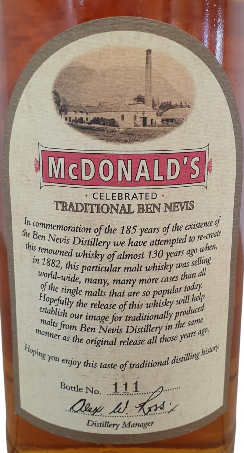 Ben Nevis McDonald's Traditional