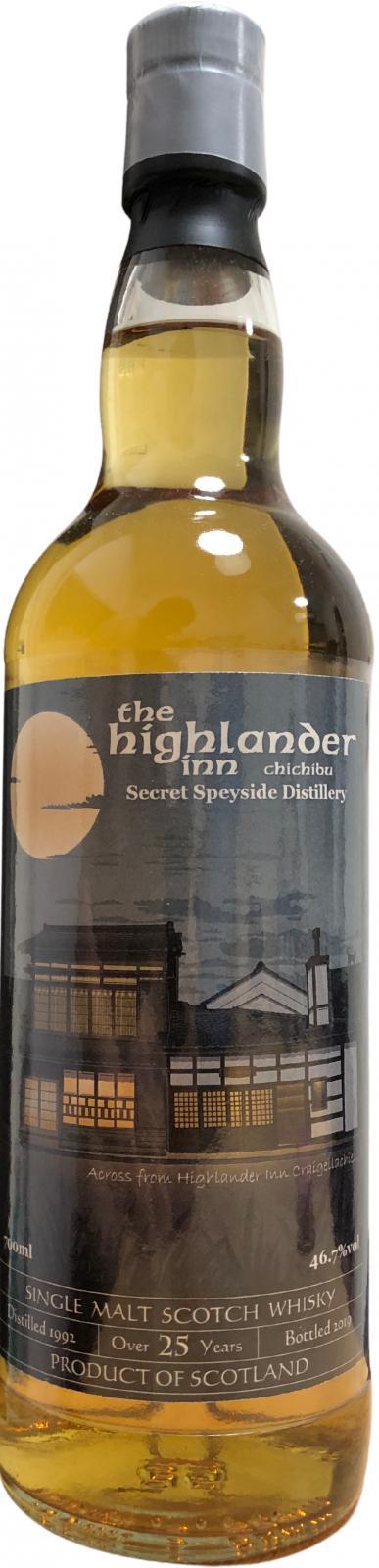 Secret Speyside Distillery 1992 HI
