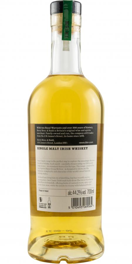 Single Malt Irish Whiskey NAS BR