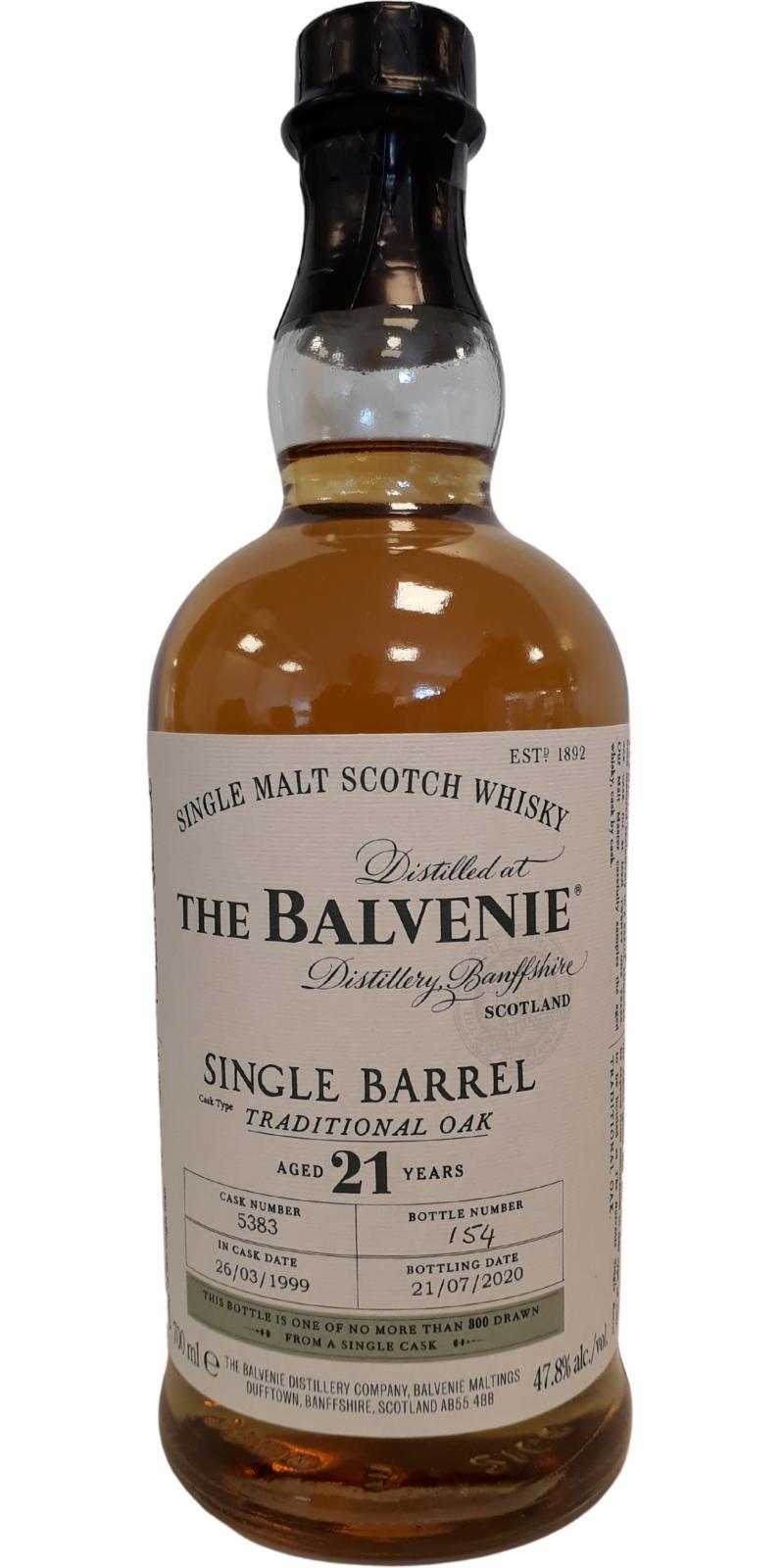 Balvenie 21-year-old